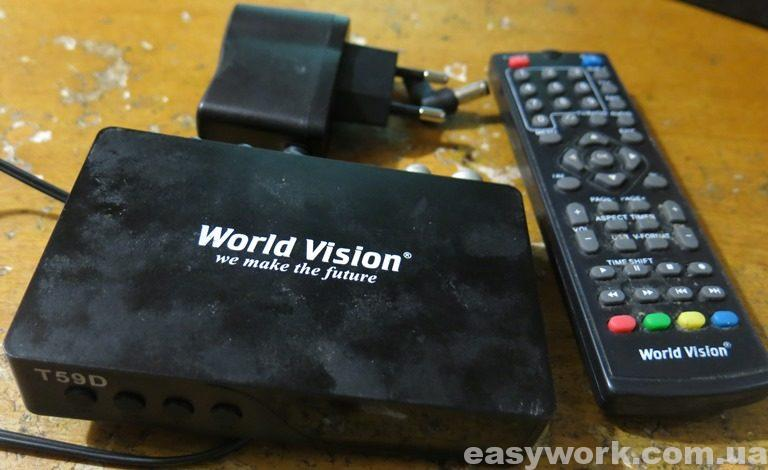 T2-тюнер World Vision T59D