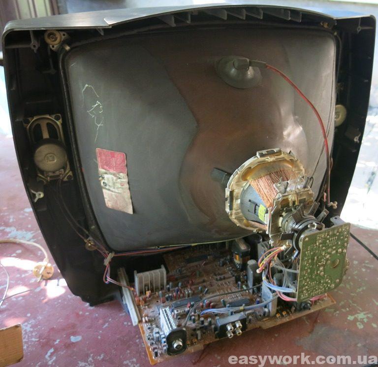 Телевизор без задней крышки LG CF-21D70X