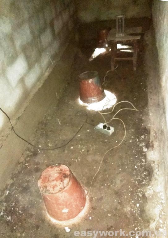 Отопление помещения 100 Вт лампочками