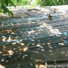 Строительство крыши котельной (часть 1)