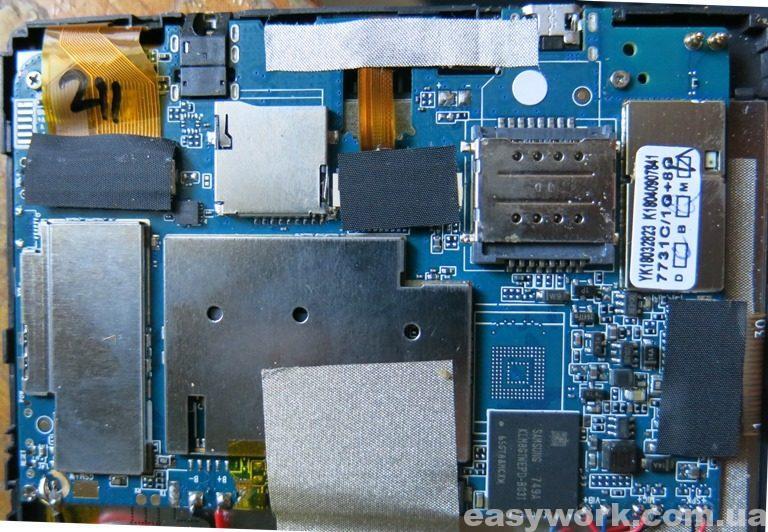 Плата планшета BQ-7084G