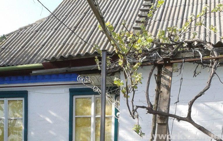 Крыша из шифера до демонтажа