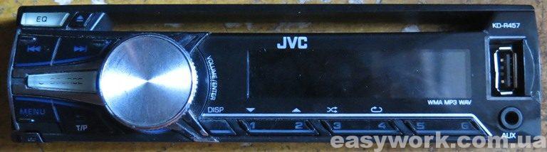 Магнитола JVC KD-R457