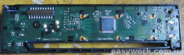 Плата лицевой панели магнитолы JVC KD-R457