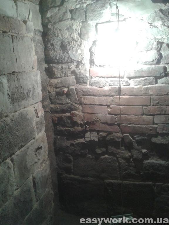 Место где стояла печка (фото 1)