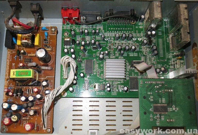 Внутреннее устройство StarTrack 750CU