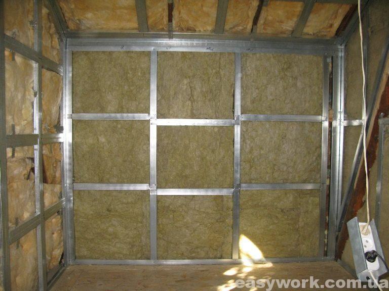 Утепление стен и потолка (фото 1)