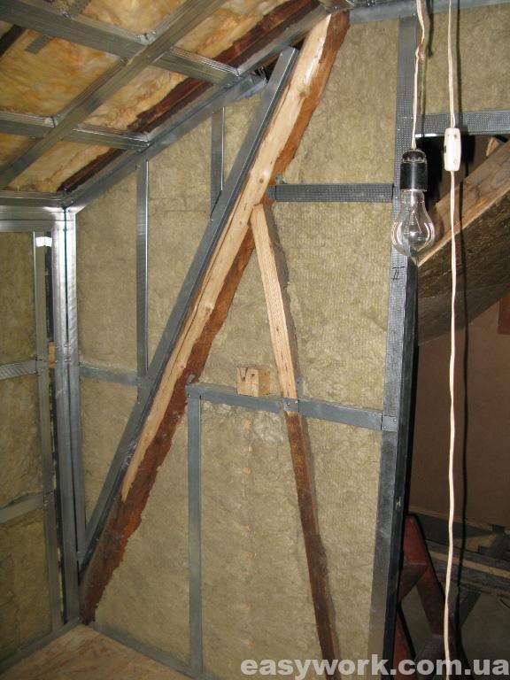 Утепление стен и потолка (фото 3)