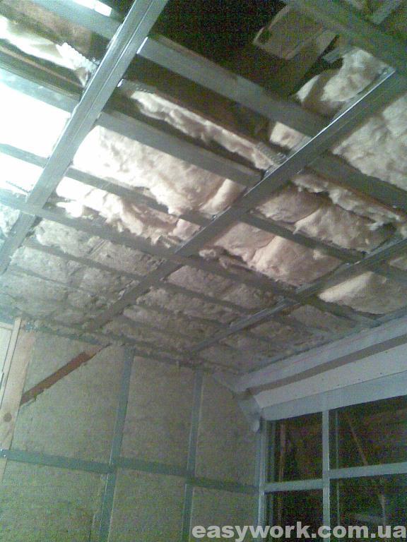 Утепление потолка в детской (фото 2)
