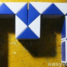 Ремонт игрушки Змейка рубика (развалилась)