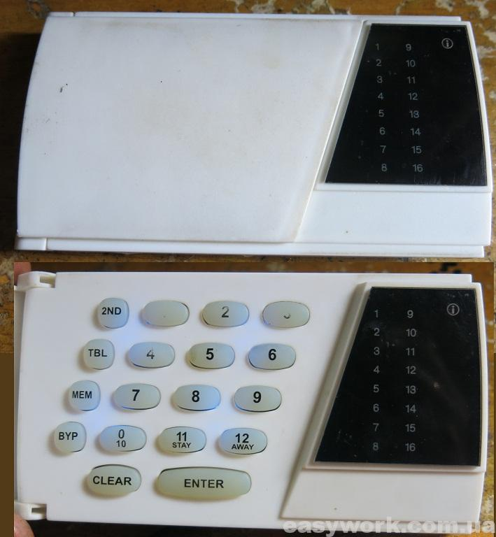 Кодовая клавиатура 187 rev.1