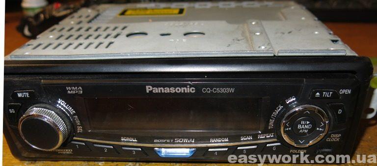 Автомагнитола Panasonic CQ-C5303W