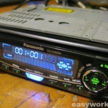 Ремонт магнитолы Panasonic CQ-C5303W (отходит панель)