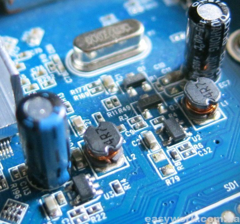Замена указанных конденсаторов