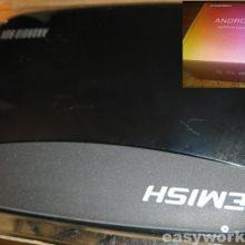 Залитая приставка EMISH X700 Android TV Box