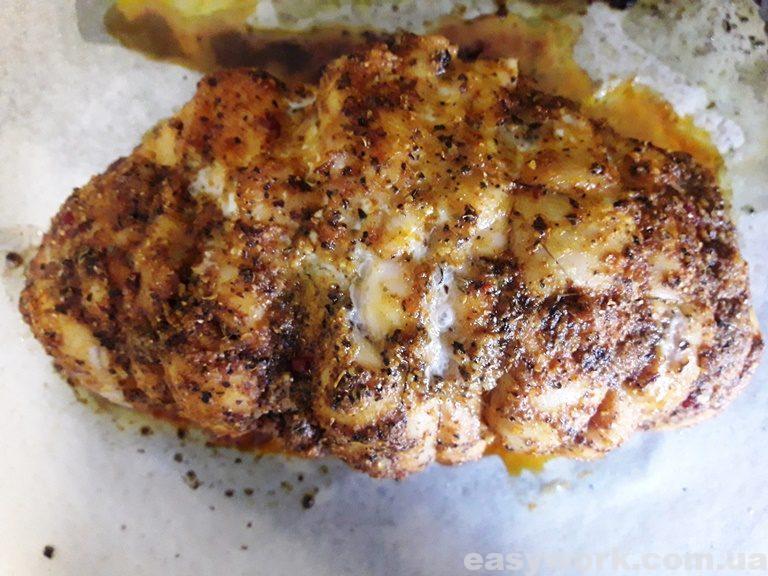 Вытаскиваем наше мясо из духовки