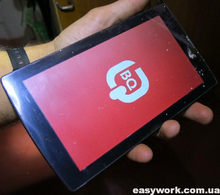 Приклеенный тачскрин на планшет BQ-7084G