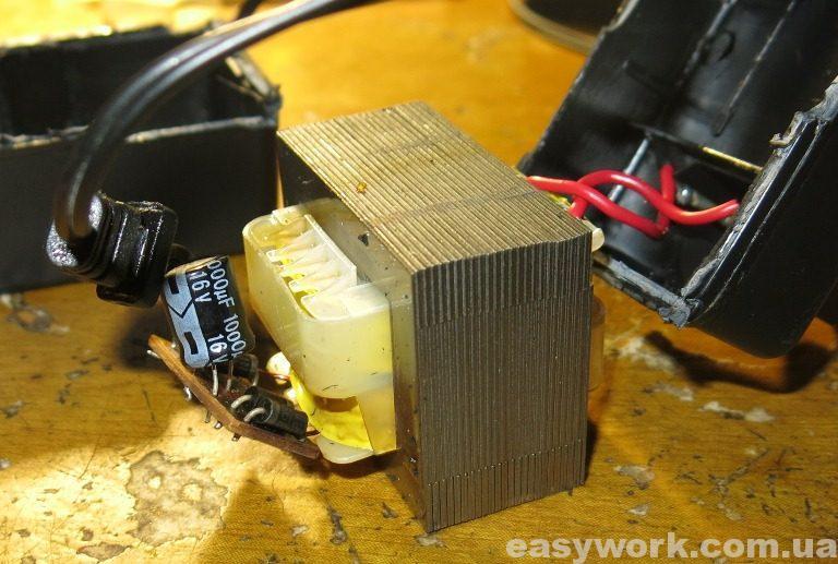Трансформатор внутри блока питания