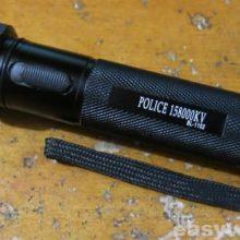 Ремонт фонаря-шокера POLICE 158000KV BL-1152