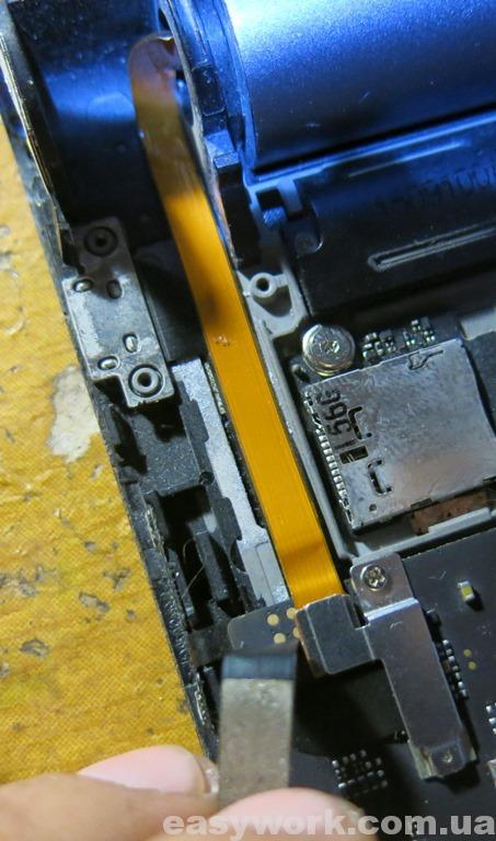 Шлейф аккумулятора планшета