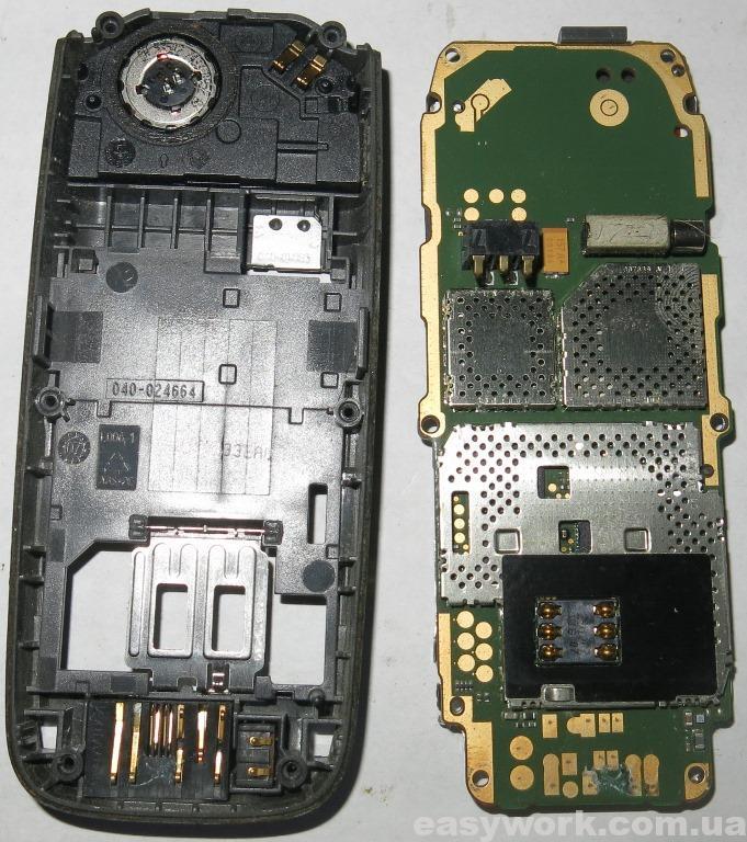 Разобранный телефон NOKIA 2626