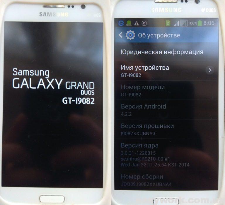 Телефон Samsung GT-i9082 Galaxy Grand Duos