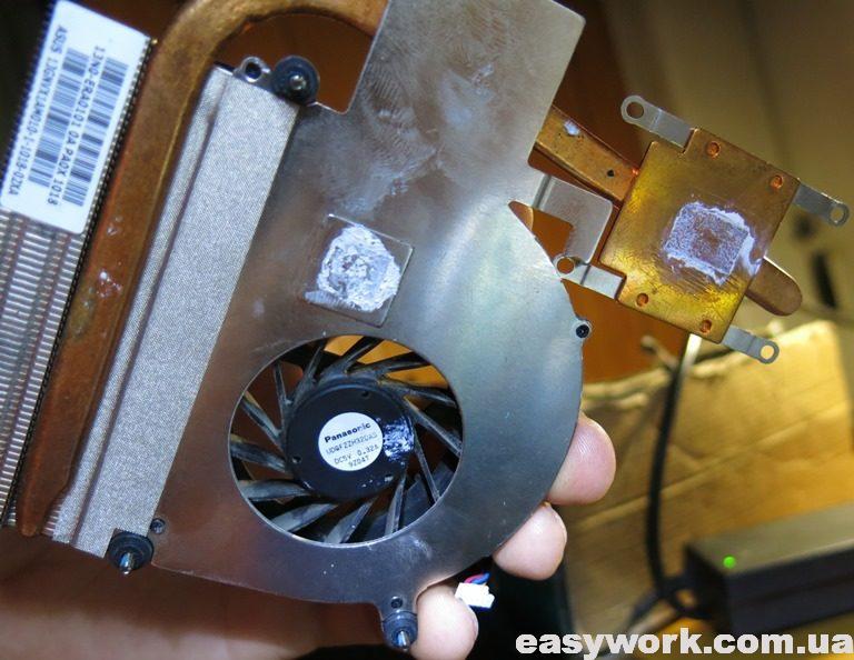 Система охлаждения ноутбука ASUS