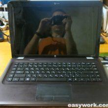 Осмотр ноутбука HP Pavilion DV6-3171sr (нет изображения)
