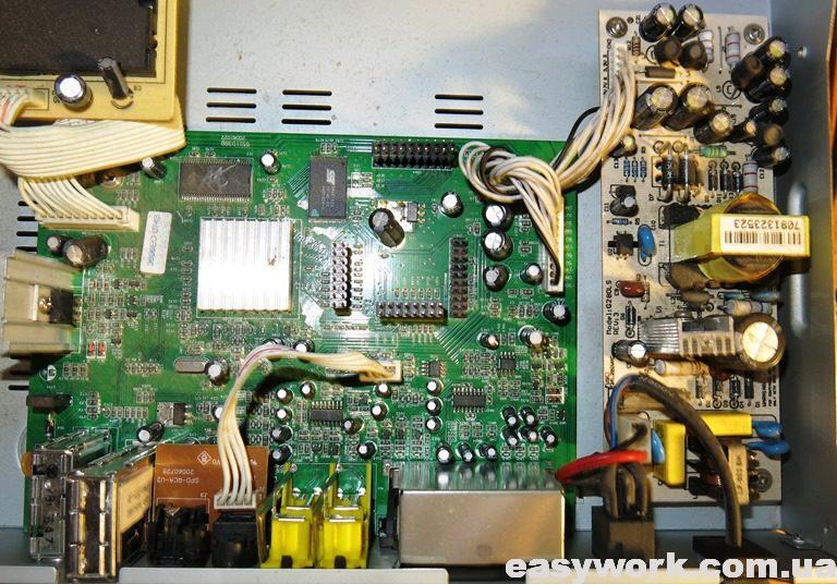 Внутреннее устройство тюнера EVO 700S