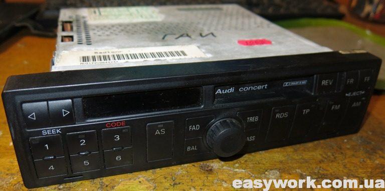 Магнитола Audi Concert 4B0 035 152