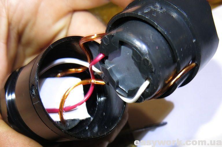 Демонтируем часть фонаря