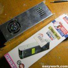 Ремонт LED драйвера VEGA-360 (сгорел)