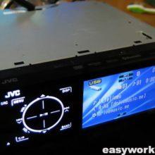 Ремонт магнитолы JVC KD-AVX40 (не работает USB)