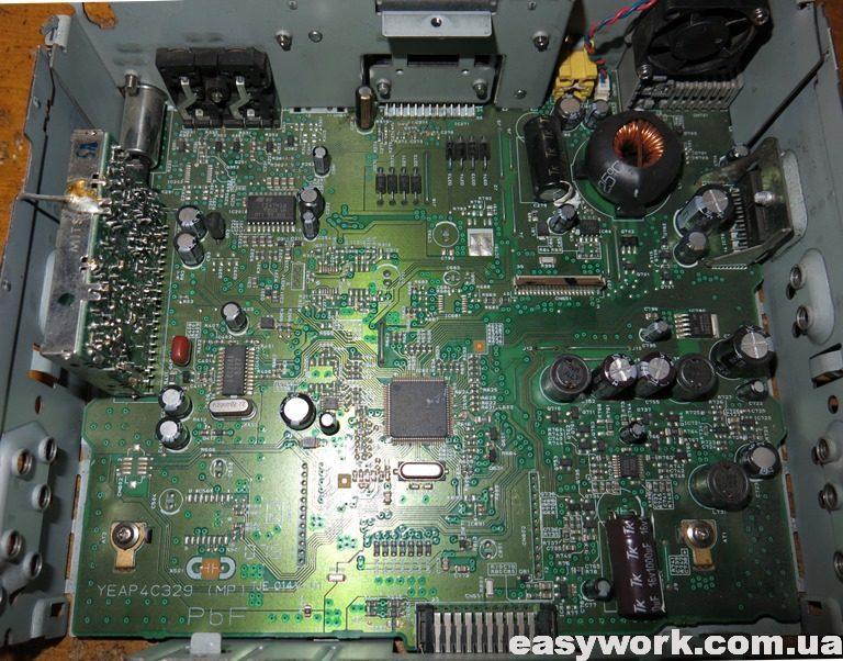 Центральная плата магнитолы Panasonic CQ-DX100W