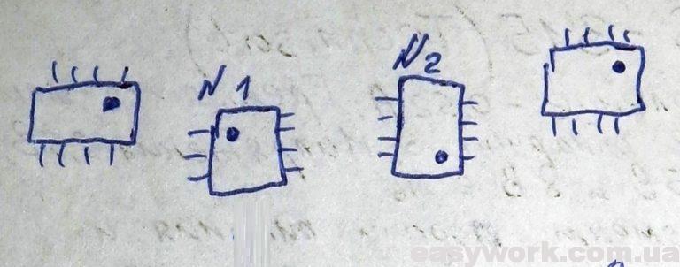 Расположение ключей FDS8449