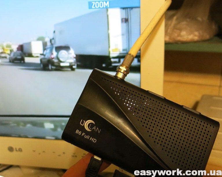 Отремонтированный тюнер UCLAN B6 Full HD
