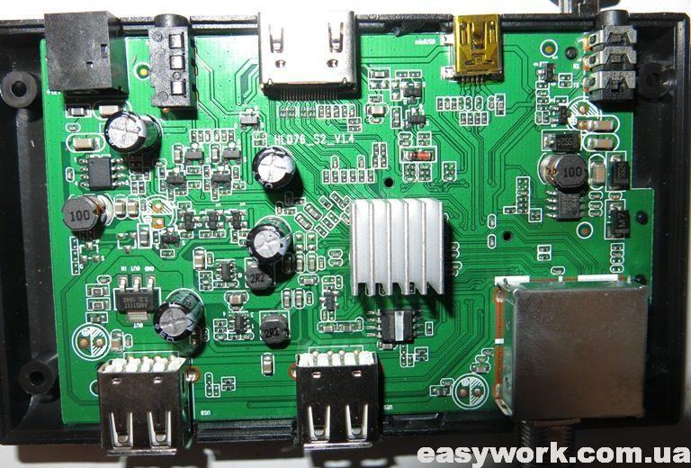 Внутреннее устройство UCLAN B6 Full HD
