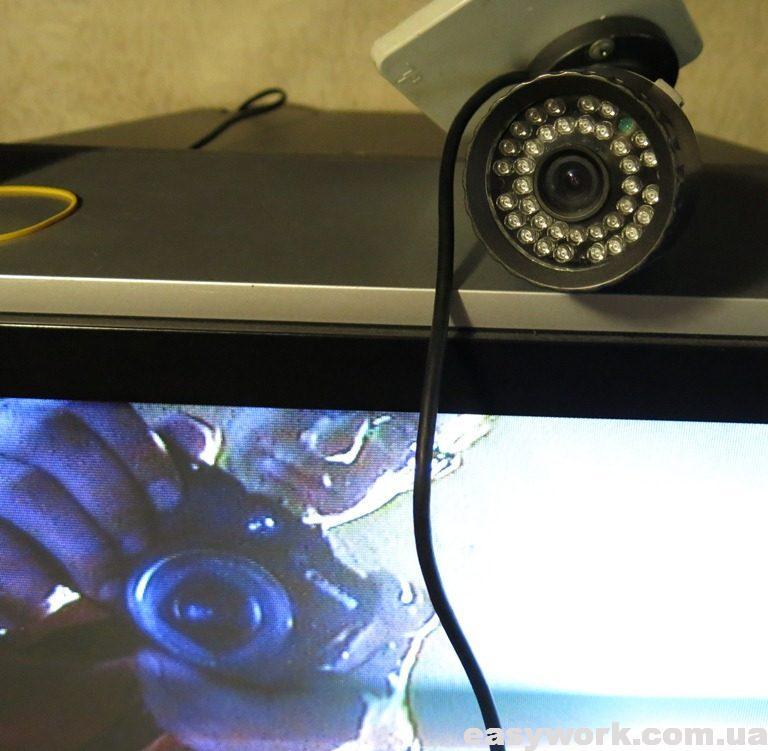 Отремонтированная видеокамера Light Vision VLC-170W