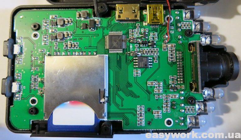 Внутреннее устройство видеорегистратора ATLAS VR2