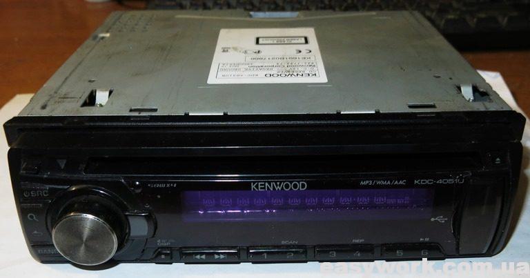 Магнитола KENWOOD KDC-4051U