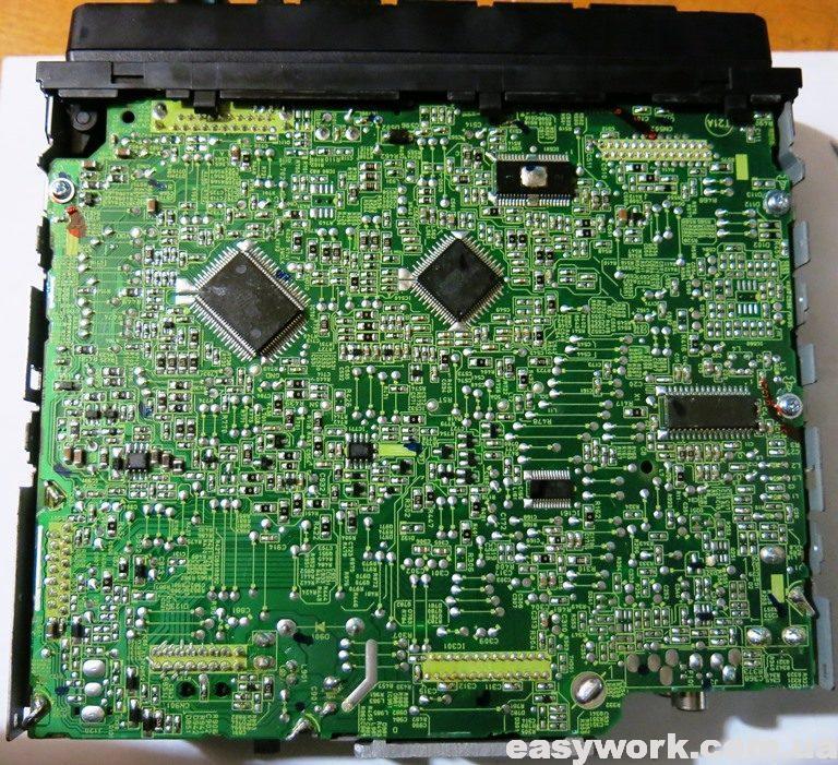 Плата магнитолы KDC-4051U