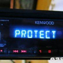 Сброс ошибки PROTECT магнитолы KENWOOD KDC-4051U