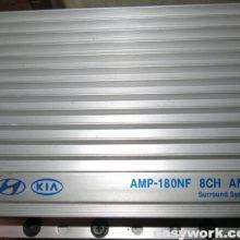 Усилитель Hyundai Kia AMP-180AM (нет звука)