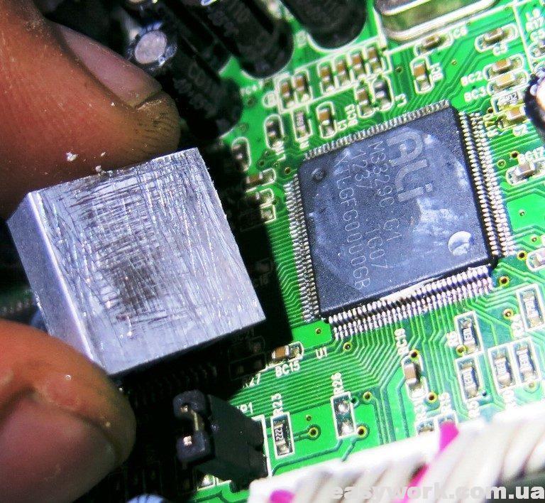 Новый радиатор на процессор