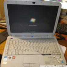 Осмотр ноутбука ACER ASPIRE 4920 MS2219 (нестабильная работа)