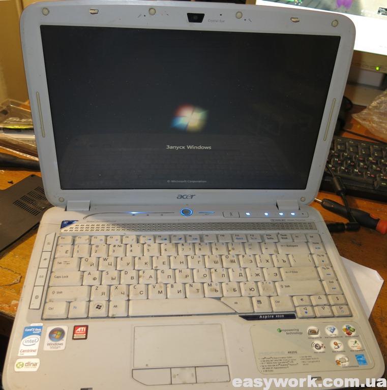 Ноутбук ACER ASPIRE 4920 MS2219