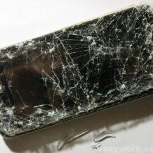 Осмотр разбитого смартфона BQ-4585 (переехала машина)