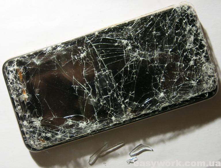 Разбитый смартфон BQ-4585 FOX VIEW