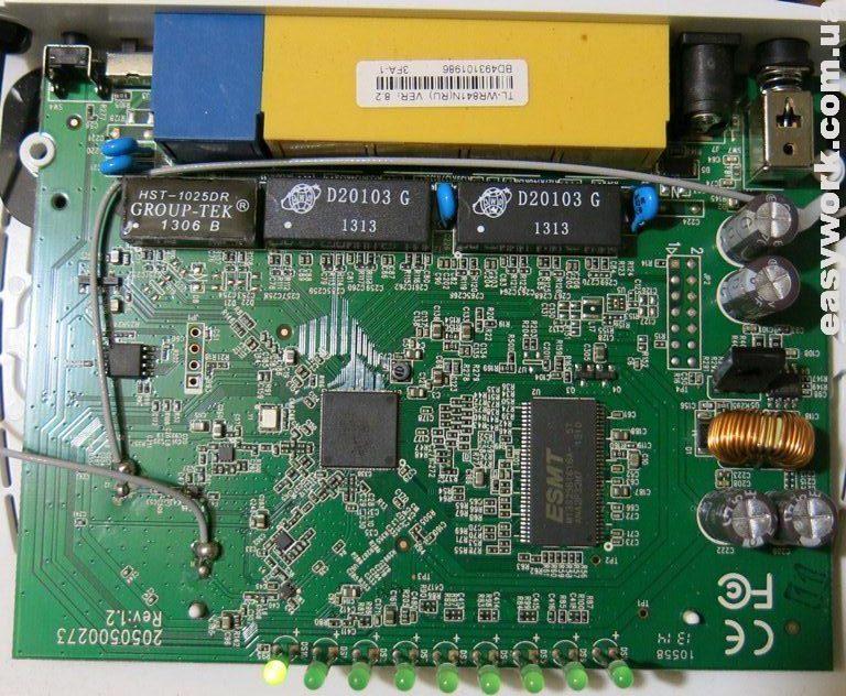 Плата TP-LINK TL-WR841N