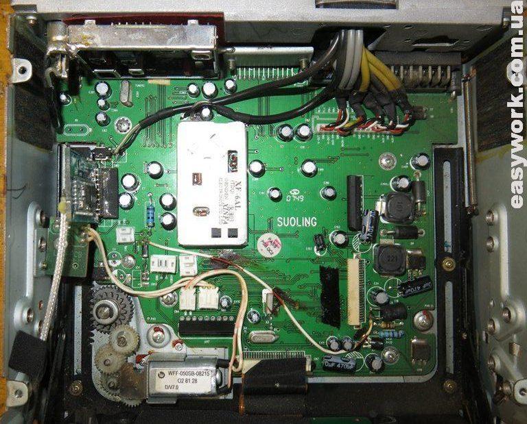 Плата магнитолы Pioneer AVH-P4550